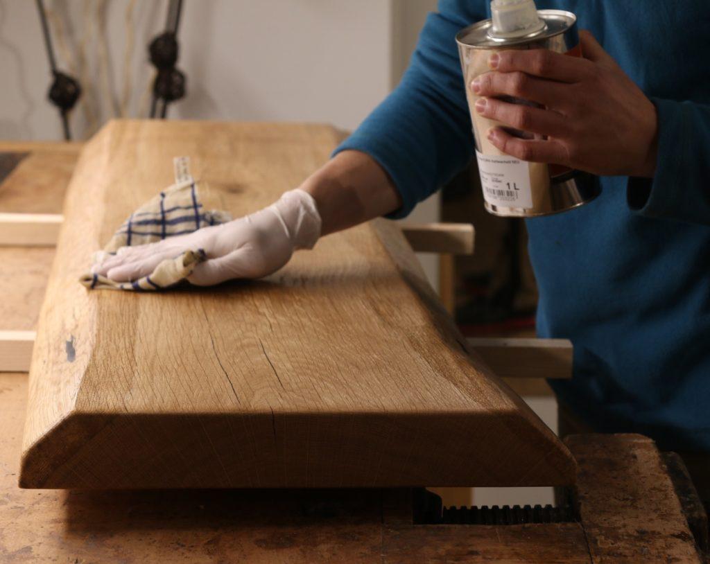 Schreinerküche Holzelemente