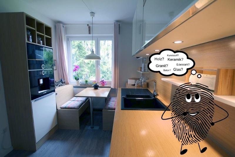 Küchenarbeitsplatte: Welches Material hat welche Vorteile? | {Eiche arbeitsplatte massiv 24}