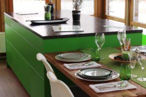 Farbige Inselküche günstig kaufen
