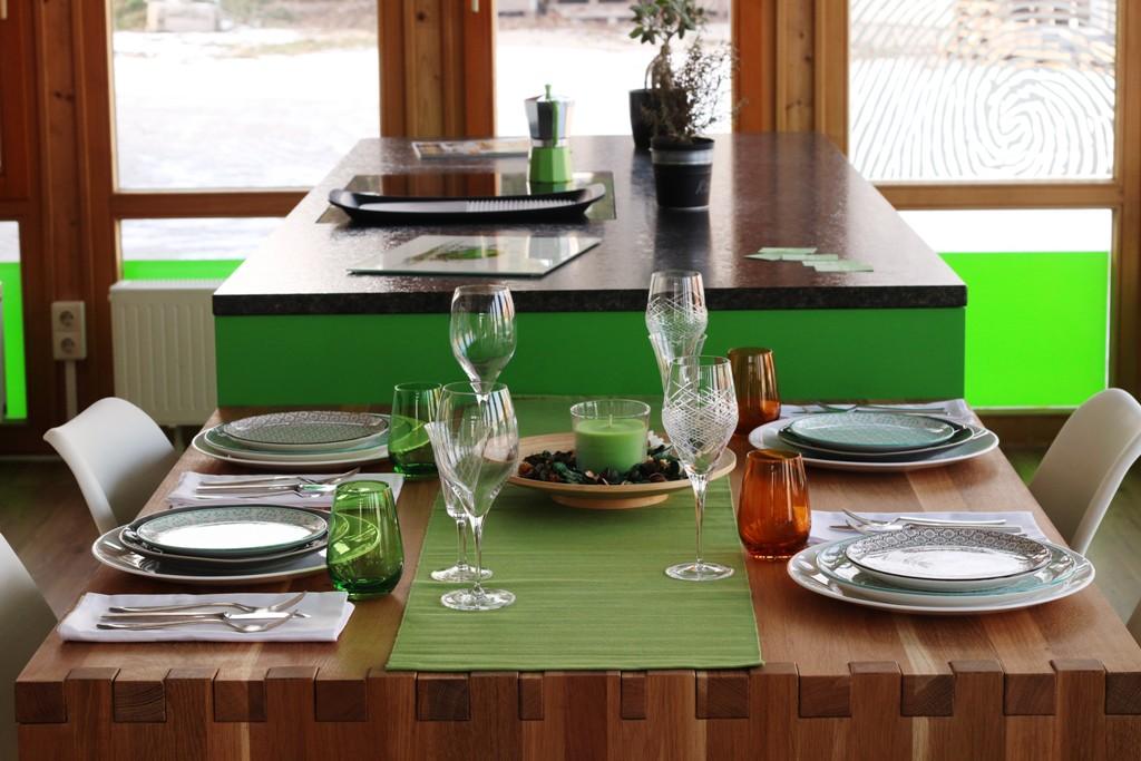 Abverkauf: Grüne Inselküche - Ihr Küchenstudio in Schwabach