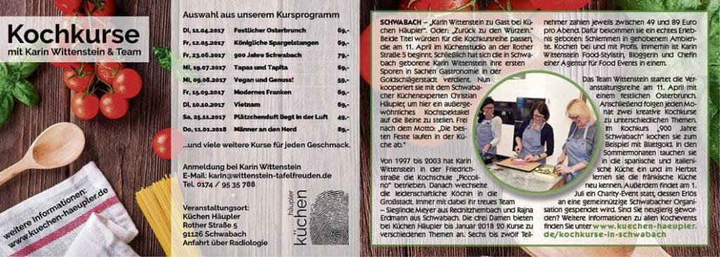 Kochvents in Schwabach