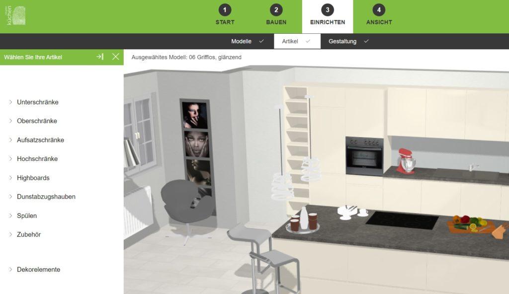 3D-Küchenplaner